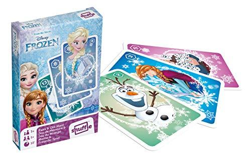 Cartamundi Disney Die Eiskönigin Spielkarten und Alter Maid