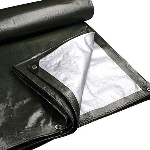 DENGJU Starke wasserdichte Plane, LKW-Sonnenschutzplane, Werk Carport Ausstellung Decke Plane Staub Tuch Polyethylen kann angepasst Werden (Size : 2 * 4m)