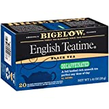 Bigelow Decaffeinated English Teatime Tea, Black Tea, 20 Count (Pack of 6), 120 Tea Bags Total