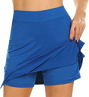 Women Casual Mini Running Tennis Golf Workout Skirt Skirts