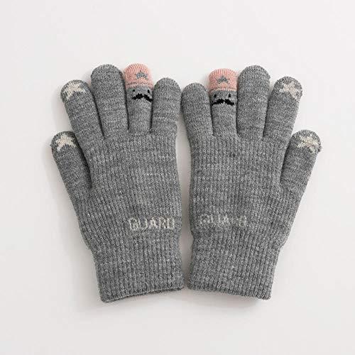 Weier. Ben Handschoenen winter schattig plus fluwelen wol warm gebreide handschoenen outdoor touch screen fiets winter rijden