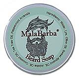 Jabón para Barba Revitalizante. MALABARBA Revitalizing Beard Soap...