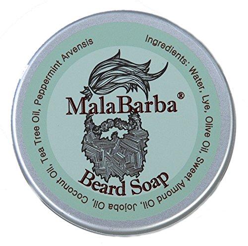 Jabón para Barba Revitalizante. MALABARBA Revitalizing Beard Soap 75gr.