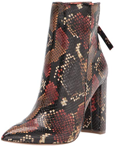 Steve Madden Women's Tristan Fashion Boot, Multi Snake, 7.5