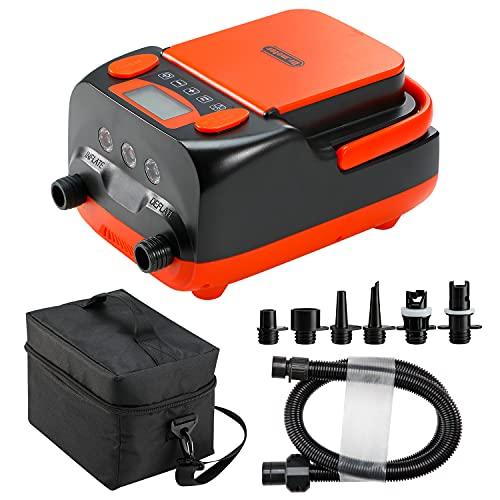 Pompe à air électrique pour Stand up Paddle , Dr.meter 6000mah Rechargeable /AC 110V/ DC 12V Haute...