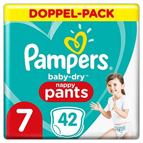 Pampers Baby-Dry Höschenwindeln 7, 42Windeln, 17kg+