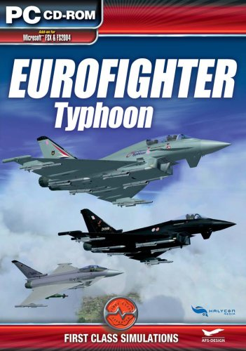 Eurofighter: Typhoon Add-On for FS 2004/FSX [UK Import]