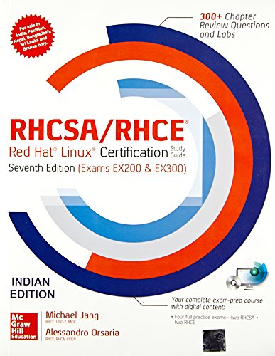 Price comparison product image Rhcsa / Rhce Red Hat Liniux Cert.St.Gd. With Dvd