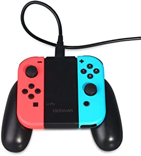 Base de carregamento recarregável OSTENT 1800 mAh com luz indicadora para Nintendo Switch Joy-con