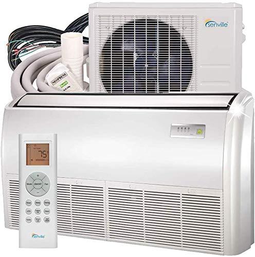 Senville SENA-24HF/IF Floor Mounted Mini Split Air Conditioner Heat Pump 24000 BTU