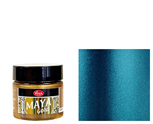 Viva Decor Acryl Maya Gold 50 ml-Petrol