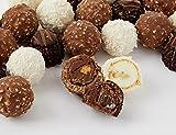 Ferrero Collection Chocolate Gift, Includes Ferrero Rocher, Rondnoir, and Raffaello, Assorted Milk Chocolate, Dark Chocolate and Coconut, and Almond Pralines, Box of 48 Pieces