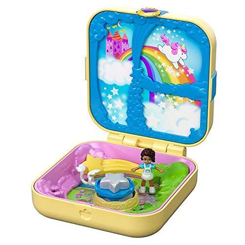 Polly Pocket Esconderijos Secretos Utopia Unicórnio - Mattel