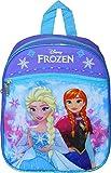 Group Ruz Frozen 10' Mini Backpack with Heat Sealed 3D Artworks of Elsa & Anna