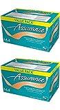Assurance Premium Washcloths Value Pack 144 Count Carton (2-Carton Multipack 288 Washcloths Total) by Assurance