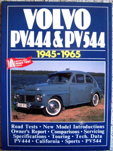 Volvo PV444 and PV544, 1945-65 (Brooklands Books Road Tests Series)