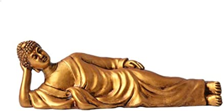 Statue Statue Sculptures Buddha Decorative Resin Statue for Home Decorations Gift Figurine Home Decor Sculpture-Golden_16....