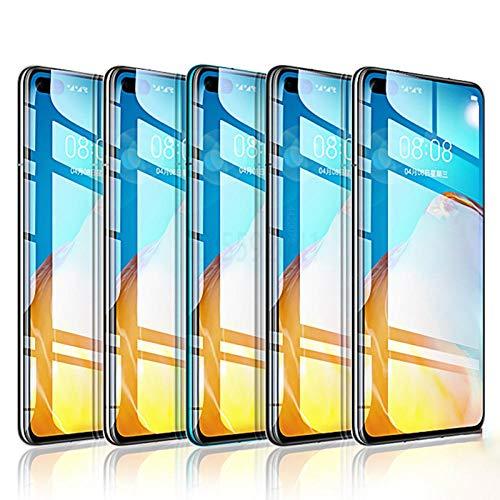 3 piezas de cubierta completa de vidrio templado en el para Huawei P30 Pro P20 P40 Lite P protector de pantalla inteligente en honor 8X 9X 10 Lite película de vidrio para honor 9X