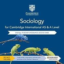 Cambridge International AS & A Level Sociology Digital Teacher's Resource Access Card