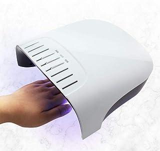 Nfudishpu Lámpara de uñas de Gel LED UV Profesional de 60W, luz de Secado de curado Polaco, detección automática Inteligente con configuración de 3 temporizadores 30/60 / 99S