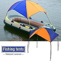 Nosii オーニング ゴムボート ボート サンシェルター ヨット用 日よけカバー 釣りテント サンシェード