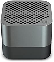 JLab Audio Crasher Micro Wireless Bluetooth Speaker   Bluetooth 2.1   18 Hour Battery Life   Water Resistant & Dust Resistant   USB + AUX Backup Available   Gunmetal