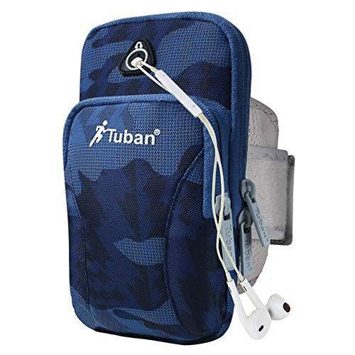 Bandas para el brazo Soporte portátil for teléfono con brazalete for correr, bolsa for brazalete deportivo for iPhone 7/6 / 6s / 5 / SE / iPod, Samsung Galaxy S5 / S4 / S3, LG, HTC, teléfono celular H
