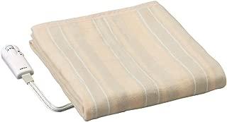 広電 電気毛布 掛け 敷き 洗える ダニ退治 抗菌防臭 面切換(全面/足元) 188cm×130cm ベージュ CWS-M803C