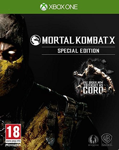 Mortal Kombat X [AT PEGI] - Special Steelcase Edition - [Xbox One]