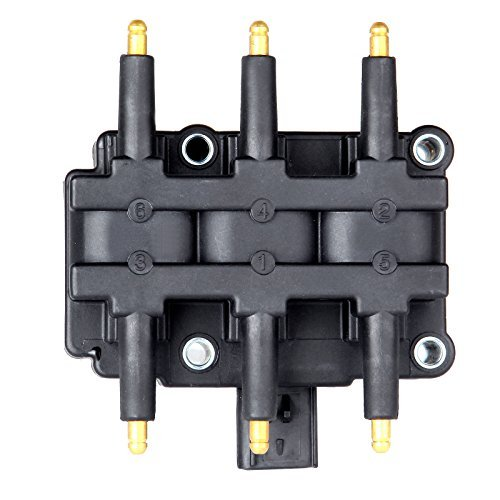ECCPP Ignition Coil Pack of 1 Compatible with Dodge Caravan/Grand Caravan Jeep Wrangler 2000-2011 Replacement for UF305 C1442 69531679
