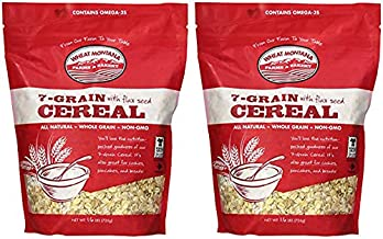 Wheat Montana Farms & Bakery, 7 Grain with Flax Seed Cereal, 1.6 Pound (2 pack)