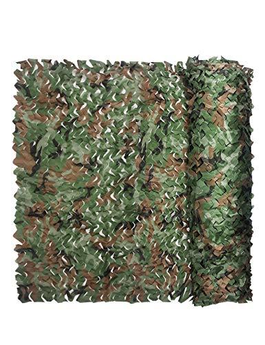 Poser Filet De Camouflage, Camouflage Boisé Oxford Chiffon Camping Paintball Tir Écran Solaire Camping Décoration De Voiture Couverture (Taille : 3m×4m)
