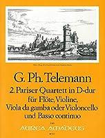TELEMANN - Cuarteto en Re Mayor (TWV:43/d1) (Partitura/Partes)