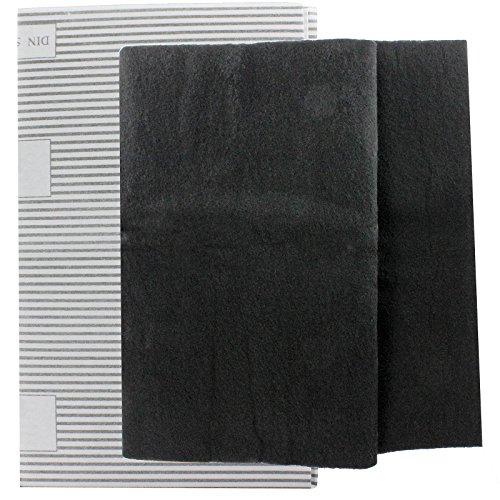 SPARES2GO grote afzuigkap vetfilters voor Kuppersbusch Vent Extractor ventilatoren (2 x filter, op maat gesneden - 100 cm x 47 cm)