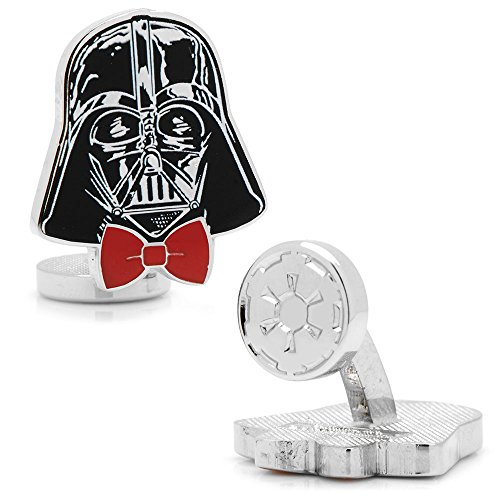 Star Wars Dapper Darth Vader Cufflinks, Officially Licensed