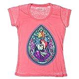 Disney The Little Mermaid Ariel Stained Glass Shell Girls Top Juniors Shirt