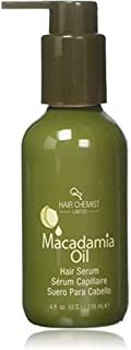 Hair Chemist Macadamia Oil Hair Serum, 4 Ounce