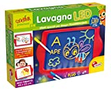 Liscianigiochi- Carotina Lavagna LED, Edizione 2018, Multicolore, 68609