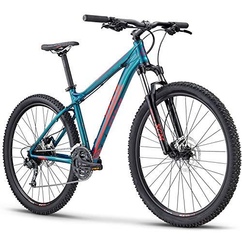 Fuji Mountainbike 650B MTB Hardtail 27,5 Zoll Addy 1.5 2019 Fahrrad Damen (Green Lagoon, 38 cm)