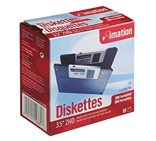 """Imation - 3.5"""" DS-HD IBM Formatted - Black 10 Pack (B00004YKNF)   Amazon price tracker / tracking, Amazon price history charts, Amazon price watches, Amazon price drop alerts"""