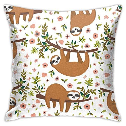 MZZhuBao Almohada para cama y sofá de 45 x 45 cm, diseño de bruja gótica