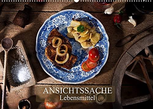 Ansichtssache Lebensmittel (Wandkalender 2022 DIN A2 quer)