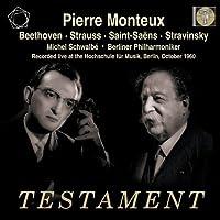 Beethoven: Leonore Overture No.3; Strauss: Till Eulenspiegel; Saint-Saens: Violin Concerto No.3; Stravinsky: Petrushka by Berlin Philharmonic Orchestra (2013-02-12)