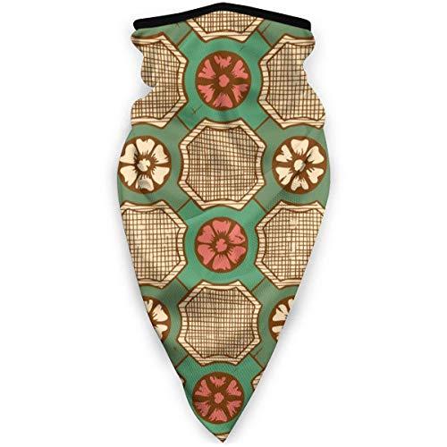 Agnes Carey Patrón sin Costuras Medieval Imagen Vectorial Máscara a Prueba de Viento Deportes Cuello Calentador Pasamontañas Invierno Multifunción