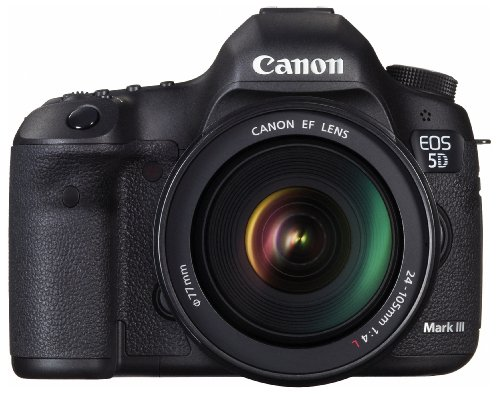 Canon EOS 5D MARK III + EF 24-105mm f/4L IS USM Kit fotocamere SLR 22,3 MP CMOS 5760 x 3840 Pixel Nero