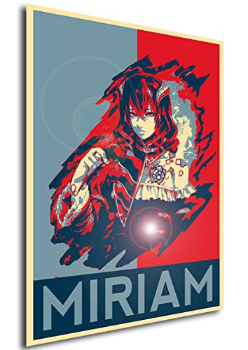 Instabuy Poster - Propaganda - Bloodstained Ritual - Miriam A4 30x21
