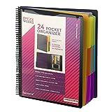 PERFORMORE 24 Pocket Spiral Project Organizer...