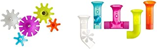 Boon Cogs Water Gears with Building Bath Pipes Toy Set, Set of 5
