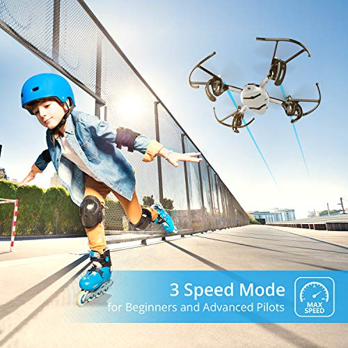 Holy Stone HS170 Predator Mini RC Helicopter Drone 2.4Ghz 6-Axis Gyro 4 Channels Quadcopter Good Choice for Drone Training