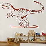 Dinosaur décor Alectrosaurus World Jurassic Dinosaur Wall Decal Sticker Dinosaur Room Decor for Boys